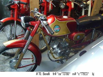 1950 Benelli moped