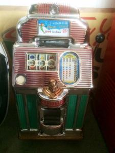 1950 Collectables Jennings 25c slotmachine